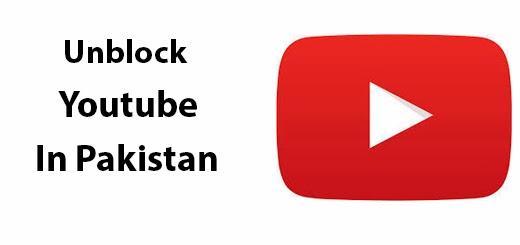 Unblock youtube In Pakistan